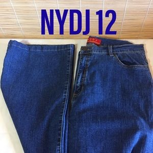 NYDJ flare jeans 12